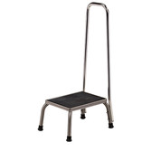 Clinton Step Stool with Hand Rail Stainless Steel SS-150