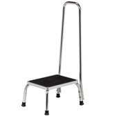 Clinton Step Stool with Hand Rail Chrome T-50
