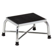 Clinton Bariatric Step Stool Chrome T-6142
