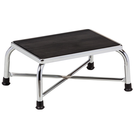 Clinton Bariatric Step Stool With Large Top Chrome T 6242