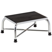 Clinton Bariatric Step Stool with Large Top Chrome T-6242