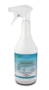 Certol ProSpray Surface Disinfectant and Cleaner-24 oz. bottle