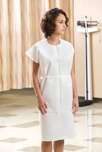 """Graham Medical 3-Ply Tissue Patient Gowns 30"""" x 42"""""""
