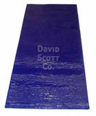 "David Scott Gel Table Pad 3/4 Length 1/2"" Thick Blue Diamond Gel BD2100"