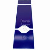 David Scott Gel Table Pad Set 3 Pieces with 2 Cutouts Blue Diamond Gel BD2130