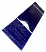David Scott Gel Table Pad Set 3 Pieces with Square Foot Section Blue Diamond Gel BD2135