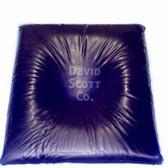 David Scott Gel Positioner Head Pillow with Centering Dish Blue Diamond Gel BD2180