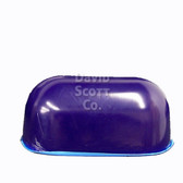 "David Scott Gel Positioner Chest Roll with Flat Bottom 12""x7""x6"" Blue Diamond Gel BD2440"