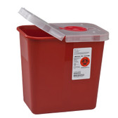 Covidien SharpSafety Multi-Purpose Sharps Container with Hinged Lid