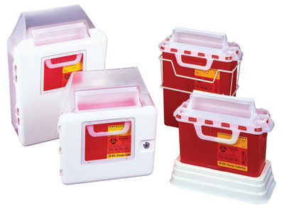 BD Patient Room Sharps Containers