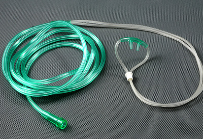 Adult Nasal Oxygen Cannula Curved Non-Flared