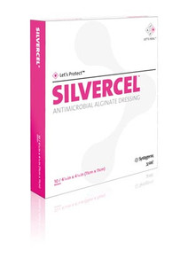 SILVERCEL Antimicrobial Alginate Wound Dressing