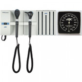 ADC Adstation Wall System LED Otoscope LED Coax Plus Ophthalmoscope 56102L