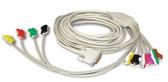 Schiller 10-Lead ECG Stress Patient Cable 2.400116S