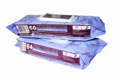 AMD-Ritmed Pre-Moistened Washcloths Wet Wipes