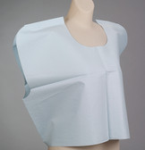 "TIDI Patient Exam Capes 30""x21"" Tissue/Poly/Tissue"