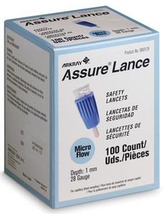 Arkray Assure Lance Safety Lancets-100