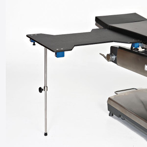 Arm/Hand Surgery Table-Hourglass-Carbon Fiber-Single Foot