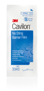 3M Cavilon No Sting Barrier Film Wipes and Foam Applicators