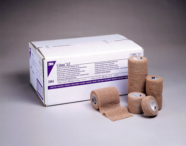 3M Coban Wrap Self-Adherent Wrap Latex Free