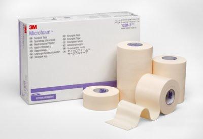 3M Microfoam Surgical Tape-Elastic Foam Surgical Tape