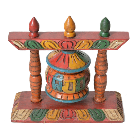 Color ful Prayer wheel