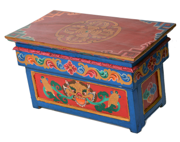 Tibetan Buddhist Altar Table/Readaingd