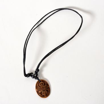 Double Dorje Bone Necklace