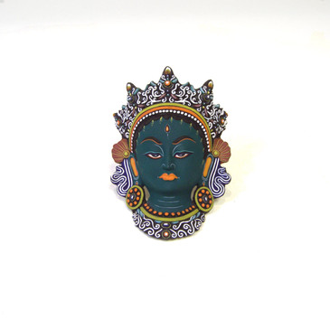 Green Tara - Paper Mache Mask