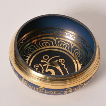 Singing Bowl - Blue - machine made medium