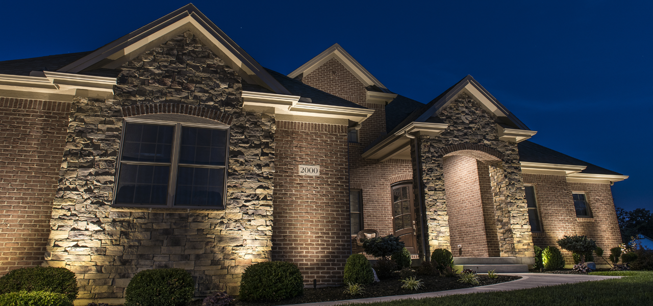 landscape lighting homes