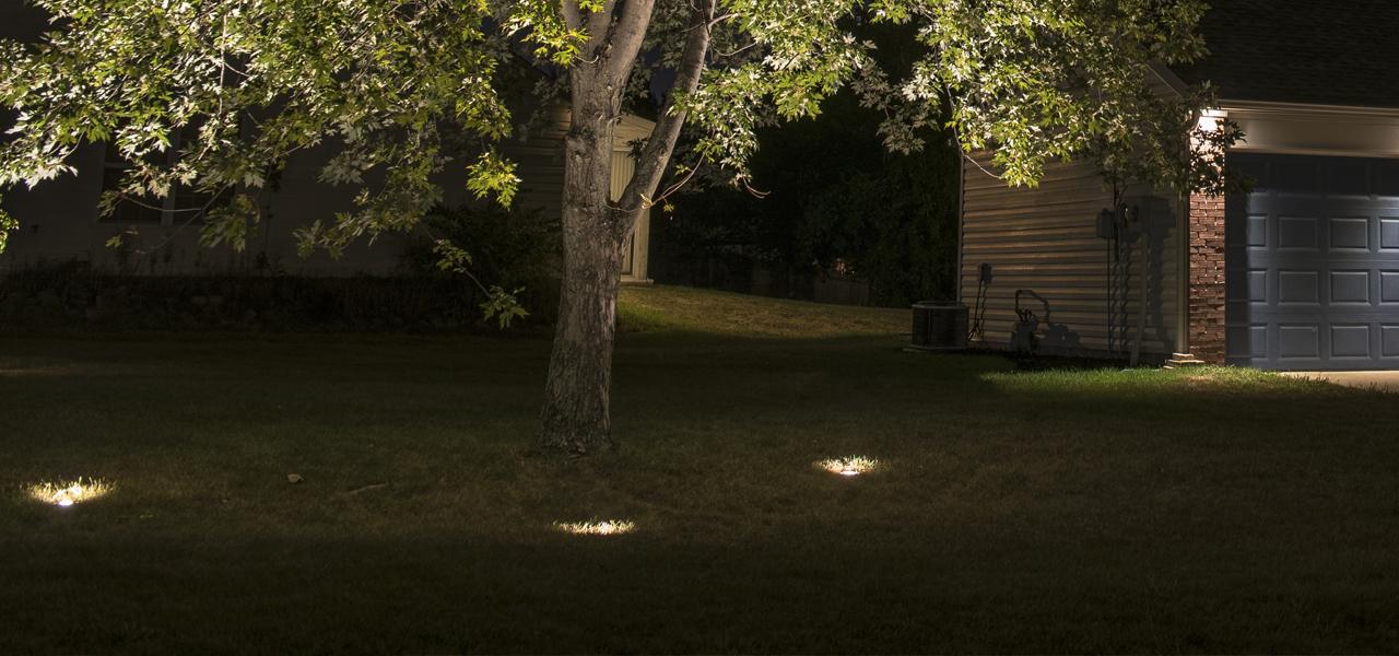 landscape lighting homes