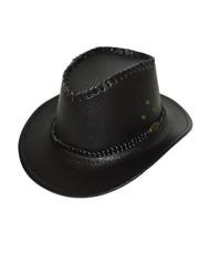 "6pc Pack 2.5"" Brim Cowboy Hat H9347"