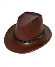"6pc Pack 2.5"" Brim Cowboy Hat H9348"