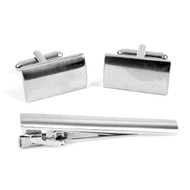 Cufflink and Tie Bar Set CTB2411
