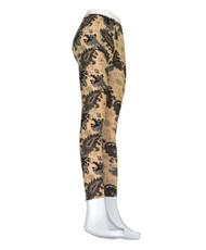 12pcs Ladies Footless Printed Leggings- L9026