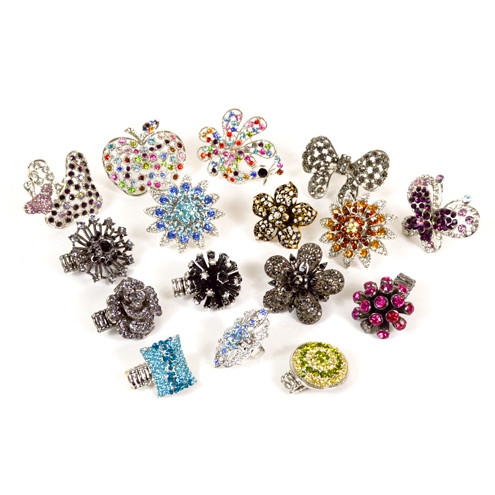 24pc Assorted Ring Sets SDAC000010