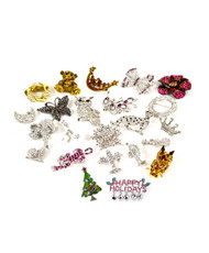 24pc Assorted Brooch Sets SDAC000013