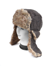 6pc Prepack Aviator Winter Hat with earflaps TH10013