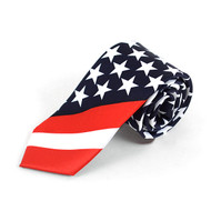 Boy's American Flag Novelty Tie BN13129