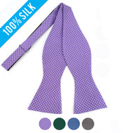Silk Woven Freestyle Bow Tie FBS4703