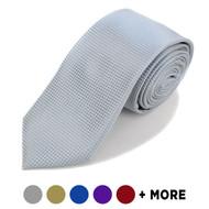 "Microfiber Poly Woven Tie SLIM 2.5"" MPWS3308"