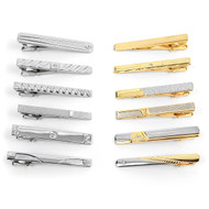 12pc Assorted Tie Bars Set TB1301-A