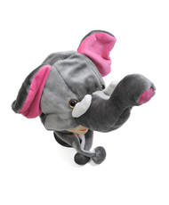 6pc Pre-Pack Animal Plush Hat - Elephant HATC1150