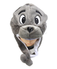 6pc Pre-Pack Animal Plush Hat - Gray Seal HATC1170