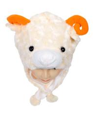 6pc Pre-Pack Animal Fleece Hats - Sheep HATC2030