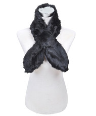 12pc Women's Polyester Fur Scarf FNW1