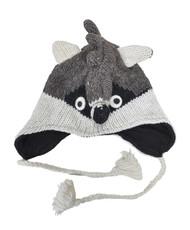 Wool Animal Hats Raccoon - AHW1300
