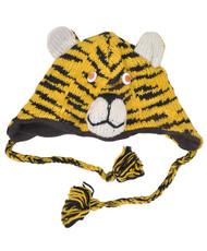 Wool Animal Hats Tiger Yellow - AHW1500