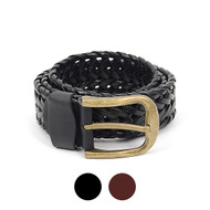12pc Size Assorted Men's Synthetic Belts SC5